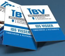 logo en visitekaartje ibv klussenbedrijf